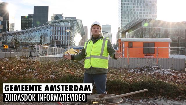 Gemeente Amsterdam - Zuidasdok Informatievideo